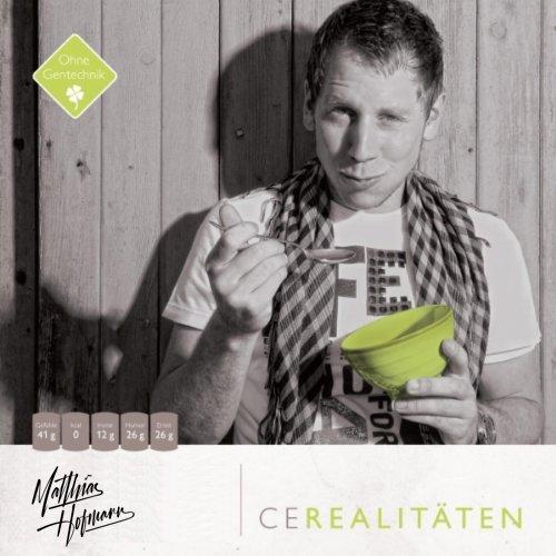 Cerealitäten Matthias Hofmann Debütalbum Cover Albumcover